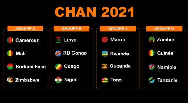 Équipes CHAN 2021